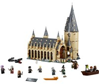 """75954 LEGO® Harry Potter™ Die große Halle von Hogwarts™:   Baue und erschaffe ein magisches Fantasy-Reich aus den """"Harry Potter™""""-Filme"""