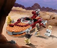 75173 LEGO® Star Wars™ Luke's Landspeeder™*:   Stell unvergessliche Szenen auf dem Wüstenplaneten Tatooine nach, und lass L