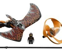 70645 LEGO® NINJAGO Drachenmeister Cole*:   Sei ein Ninja – mit dem Flieger aus dem LEGO® NINJAGO® Set Drachenmeister Co