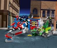 10754 LEGO® Juniors Großes Kräftemessen von Spider-Man und Skorpion:   Verfolge den Skorpion mit Spider-Man im Spidey-Car! Stürz dich mit Höchstges