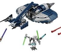 75199 LEGO® Star Wars™ General Grievous Combat Speeder:   Starte an Bord von General Grievous Combat Speeder einen Blitzeinsatz gegen