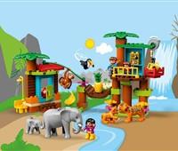 """10906 - LEGO® DUPLO® - Baumhaus im Dschungel:   Fördern Sie mit dem LEGO®DUPLO®Set """"Baumhaus im Dschungel"""" (10906) bei Ihr"""