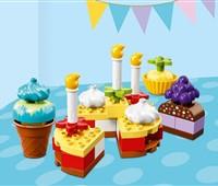 10862 LEGO® DUPLO® Meine erste Geburtstagsfeier:   Baue kunterbunte Kuchen für deine Party mit LEGO® DUPLO® Meine erste Geburts