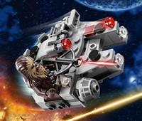75193 LEGO® Star Wars™ Millennium Falcon™ Microfighter:   Mach dich bereit für den Widerstand gegen die Flotte der First Order mit dem