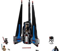 75185 LEGO® Star Wars™ Tracker I*:   Reise im Tracker I durch die Galaxie, um dich zusammen mit dem M-OC Hunter D