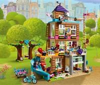 41340 LEGO® Friends Freundschaftshaus:   Die Mädchen aus Heartlake City haben die alte Feuerwehrstation übernommen un