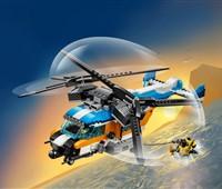 31096 - LEGO® Creator - Doppelrotor-Hubschrauber:   Mach dich bereit für rasante Abenteuer zu See oder in luftiger Höhe– mit de
