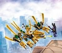 70666 LEGO® NINJAGO Goldener Drache:   Stell dich in der finalen Auseinandersetzung dem bösen Overlord – mit dem go