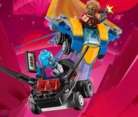76090 LEGO® Marvel Super Heroes™ Mighty Micros: Star-Lord vs. Nebula*:   Versuch, das gestohlene Mixtape von Nebula mit Star-Lords coolem Milano zurü