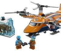 60193 LEGO® City Arktis-Frachtflugzeug:   Befördere kostbare Funde mit dem LEGO® City Arktis-Frachtflugzeug (60193). D
