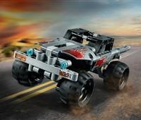 42090 LEGO® Technic Fluchtfahrzeug:   Starte durch mit dem superrobusten, supercoolen Fluchtfahrzeug. Dieses LEGO®