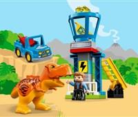 10880 LEGO® DUPLO® T-Rex Aussichtsplattform:   Mit diesem Jurassic World Set können Kleinkinder die spannenden Abenteuer au