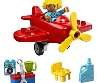 10908 LEGO® DUPLO® Flugzeug:   Mit LEGO®DUPLO®Stadt – einer wiedererkennbaren Welt mit modernen LEGO DUPL