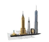 21028 LEGO® Architecture New York City:   Dieses prächtige Set, das die legendären Bauwerke von New York – das Flatiro