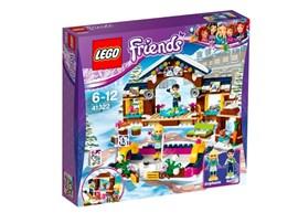 41322 LEGO® Friends Eislaufplatz im Wintersportort*:   Triff dich mit deinen Freunden auf dem Eislaufplatz im Wintersportort, um ri