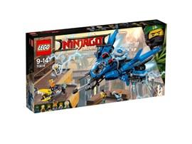 70614 LEGO® NINJAGO Jay's Jet-Blitz*: Zisch mit dem supercoolen Jet-Blitz los, um Ed und Edna vor den Haimonstern zu r