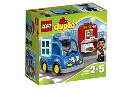 10809 LEGO® DUPLO® Polizeistreife:   In die Bank wurde eingebrochen und ein Ganove versucht, Geld zu stehlen! Set