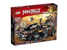70654 LEGO® NINJAGO Drachen-Fänger:   Vorsicht! Der Eisen-Baron, Heavy Metal, der Knochenbrecher und der Maulkorbj