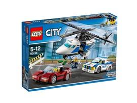 60138 LEGO® City Rasante Verfolgungsjagd:   Alarmstufe Rot! Der Ganove hat Geld und Gold entwendet und rast nun in einem