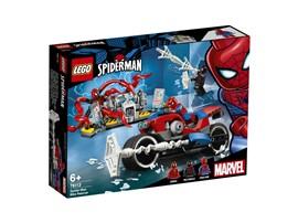 """76113 - LEGO® Marvel Super Heroes™ - Spider-Man Motorradrettung:   Rase mit dem LEGO® Marvel Spider-Man Set """"Spider-Man Motorradrettung"""" (76113"""