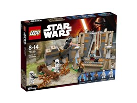 75139 LEGO® Star Wars™ Battle on Takodana™:   Die Helden der Rebellen werden auf dem Planeten Takodana angegriffen! Nimm e