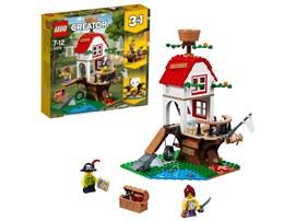 """31078 LEGO® Creator Baumhausschätze*:   Das LEGO® Creator 3in1-Set """"Baumhausschätze"""" (31078) lässt dich unendlich vi"""