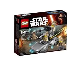 75131 LEGO® Star Wars™ Resistance Trooper Battle Pack:   Die Streitkräfte der First Order wurden ganz in der Nähe gesichtet und müsse