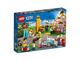 60234 - LEGO® City - Stadtbewohner – Jahrmarkt:   Mit diesem coolen Jahrmarkt-Set werden die LEGO®City Rollenspielabenteuer n