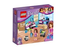 41307 LEGO® Friends Olivias Erfinderlabor:   Mach dich in Olivias Labor ans Werk, um ihr beim Erfinden neuer Roboter zu h