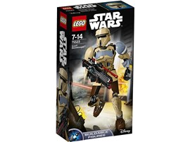 75523 LEGO® Star Wars™ Scarif Stormtrooper™:   Mit dieser baubaren und äußerst beweglichen LEGO® Star Wars Figur Scarif Sto