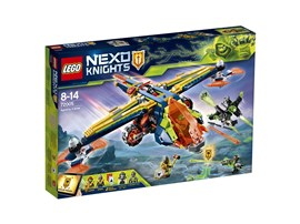 72005 LEGO® Nexo Knights Aarons Armbrust*:   Komm mit Aarons Armbrust angeflogen, um es mit dem Giga-Schnapper Nr. 307 un