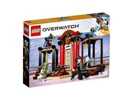 75971 - LEGO® Overwatch™ - Hanzo vs. Genji:   Jetzt können Overwatch®-Fans das Hanamura-Dojo aus LEGO®Steinen nachbauen–