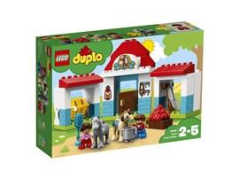 10868 LEGO® DUPLO® Pferdestall:   Mit LEGO® DUPLO® Stadt – einer wiedererkennbaren Welt mit modernen LEGO DUPL