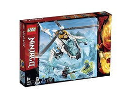 70673 - LEGO® NINJAGO - ShuriCopter:   Mit diesem Spielzeug-Helikopter und den Ninja-Actionfiguren können sich Kind