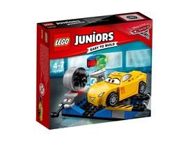 10731 LEGO® Juniors Cruz Ramirez Rennsimulator*:   Begib dich mit Disney•Pixars Cruz Ramirez zu Rust-ezes Rennsimulator, um sie