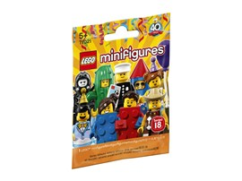 71021 LEGO® Minifigures Serie 18: Party:   Für deine vorhandenen LEGO® Sets eröffnen sich mit den feierlichen Minifigur
