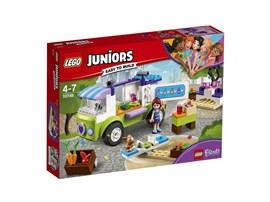 10749 LEGO® Juniors Mias Bio Foodtruck*:   Hilf Mia dabei, ihren Bio Foodtruck zu eröffnen! Parke im Stadtzentrum von H