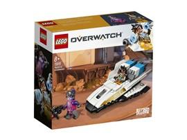 75970 - LEGO® Overwatch™ - Tracer vs. Widowmaker:   Fans des beliebten Spiels Overwatch® werden vom Set LEGO®Overwatch Tracer v