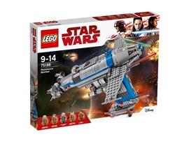75188 LEGO® Star Wars™ 75188 RESISTANCE BOMBER:   Begleite Poe und Admiral Holdo auf ihre waghalsigen Missionen an Bord des Re