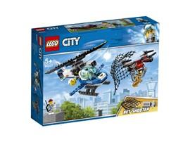 60207 LEGO® City Polizei Drohnenjagd:   Komme zur LEGO®City Polizei und erlebe spannende Flug-Action! Moment mal, w