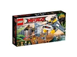 70609 LEGO® NINJAGO Mantarochen-Flieger: Aufgepasst! Haimonster lassen aus ihrem Mantarochen-Flieger Raketen auf NINJAGO®
