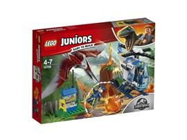 10756 LEGO® Juniors Flucht vor dem Pteranodon:   Zeige deinem Kind, wie spannend das Leben eines Forschers ist – mit diesem L