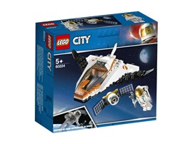 60224 LEGO® City - City Satelliten-Wartungsmission:   Dieses von der NASA inspirierte Spielset mit einem Erkundungsshuttle und ein
