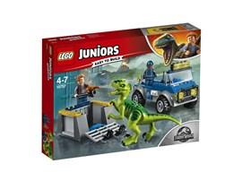 10757 LEGO® Juniors Raptoren Rettungstransporter:   Zeige deinem Kind, wie spannend das Leben eines Forschers ist – mit diesem L