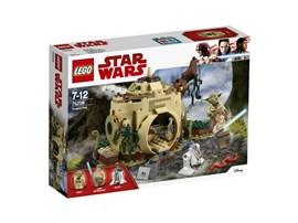 75208 LEGO® Star Wars™ Yoda´s Hut:   Stell die legendäre LEGO® Star Wars Trainingsszene an Yodas Hütte auf Dagoba