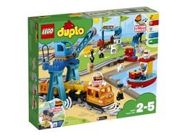 10875 LEGO® DUPLO® Güterzug:   Der LEGO® DUPLO® Güterzug lässt sich jetzt noch leichter von Kleinkindern st