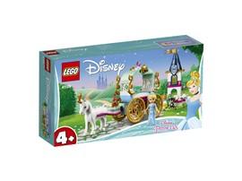 41159 LEGO® Disney Cinderellas Kutsche:   Fahre mit der DisneyPrinzessin Cinderella in der Pferdekutsche zum Ball und