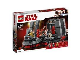 75216 LEGO® Star Wars™ Snokes Thronsaal:   Lass Supreme Leader Snoke, Rey, Kylo Ren und die bestens ausgebildeten Elite