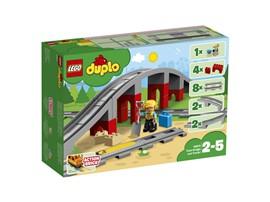 """10872 LEGO® DUPLO® Eisenbahnbrücke und Schienen:   Das LEGO® DUPLO® Set """"Eisenbahnbrücke und Schienen"""" (10872) ist die perfekte"""