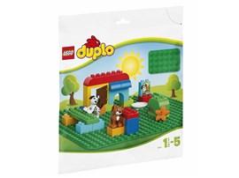 2304 LEGO® DUPLO® LEGO® DUPLO® Große Bauplatte, grün:   Große Baufläche für viele Spielwelten.